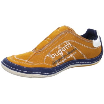 Bugatti Sportlicher Slipper orange