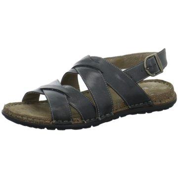 Empor Komfort Sandale schwarz