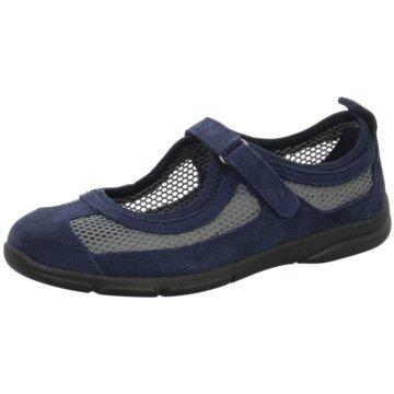 Romika Komfort Slipper blau