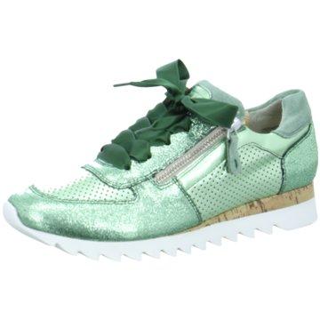 Paul Green Sneaker Low grün