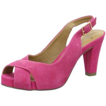 Clarks Riemchensandalette pink