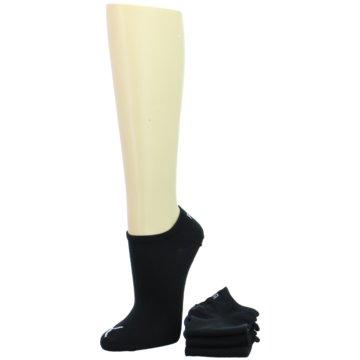 Puma Socken / Strümpfe schwarz