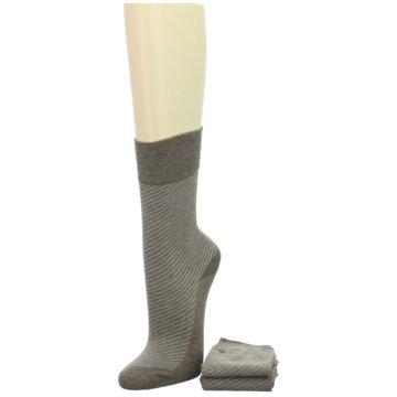 Camano Socken / Strümpfe braun