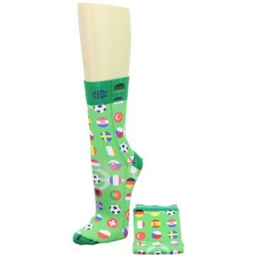 Wigglesteps Socken / Strümpfe grün