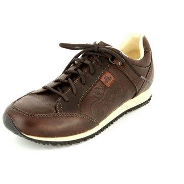 Aktuelle Damen Halbschuhe Schuhe Sportliche Slipper 5214 Schwarz Silber 41