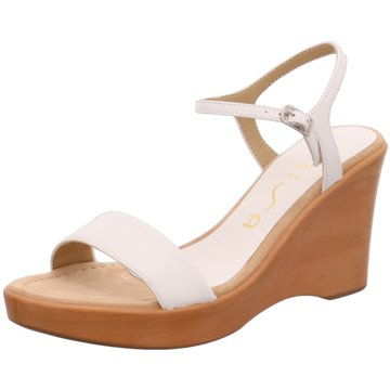 Unisa Modische Sandaletten weiß