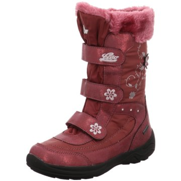 Lico Klettstiefel rot