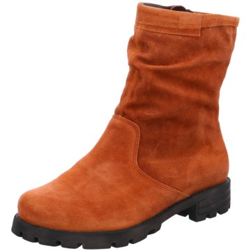 Think Klassische Stiefelette orange