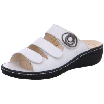 Fidelio Komfort Pantolette weiß