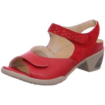 Fidelio Komfort Sandale rot