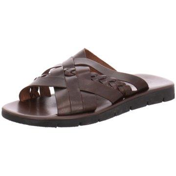 DE.VI.L. Shoes Pantolette braun