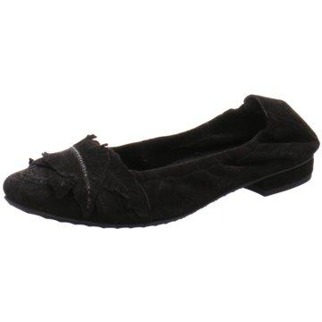 Kennel + Schmenger Modische Ballerinas schwarz