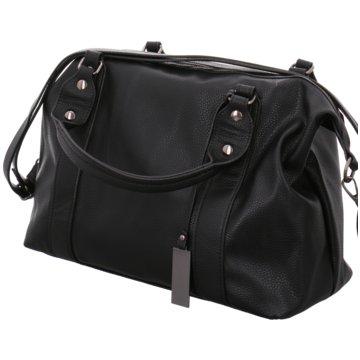 Gregg Textil Handtasche schwarz