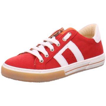Micio Sportlicher Schnürschuh rot