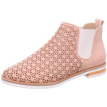 Caprice Chelsea Boot rosa