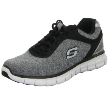 Skechers - Schnürhalbschuh Synergy-Instant Reaction -  grau