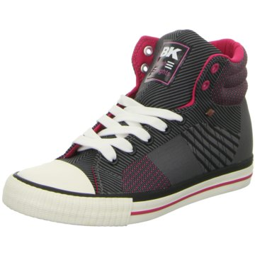 British Knights Sneaker High grau