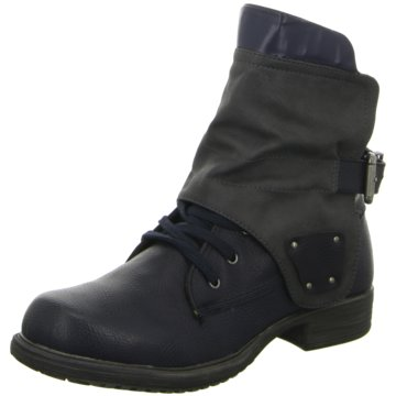 GirlZ Only Biker Boot blau