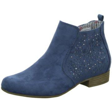 Pep Step Klassische Stiefelette blau