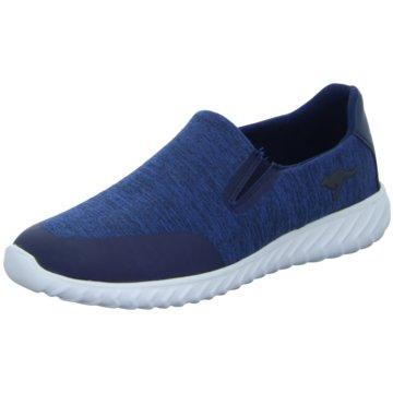 KangaROOS Sportlicher Slipper blau