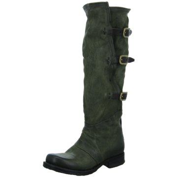 A.S.98 Modische Stiefel grün