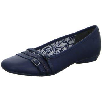 s.Oliver Klassischer Ballerina blau