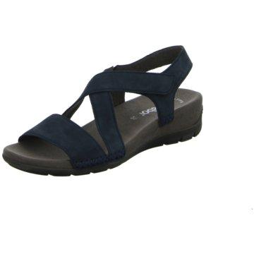 Gabor Komfort Sandale schwarz