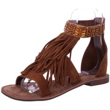 Amani Modische Sandaletten braun