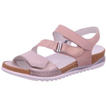 Waldläufer Komfort Sandale rosa