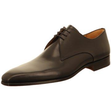 Magnanni Eleganter Schnürschuh schwarz