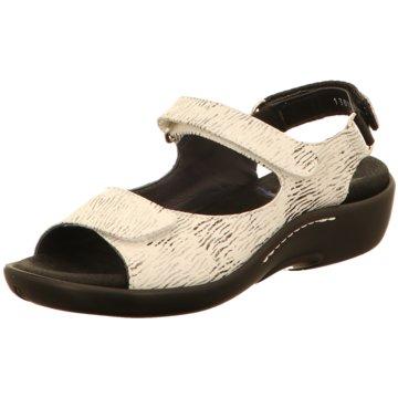 Wolky Komfort Sandale weiß