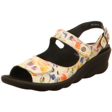 Wolky Komfort Sandale bunt