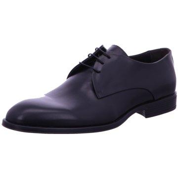 Corvari Eleganter Schnürschuh schwarz