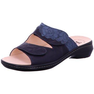 Think Komfort Pantolette blau
