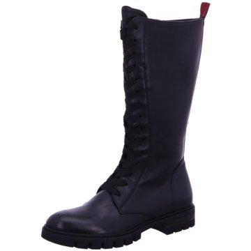 Donna Carolina Modische Stiefel schwarz