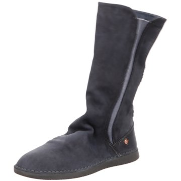 Softinos Komfort Stiefel blau