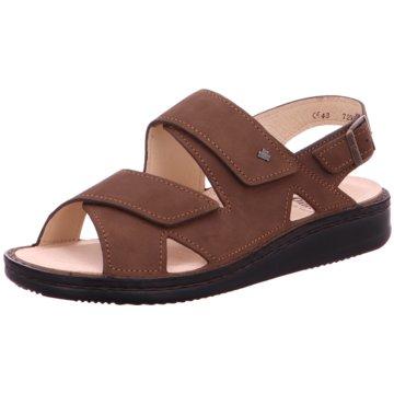 FinnComfort Komfort Sandale braun