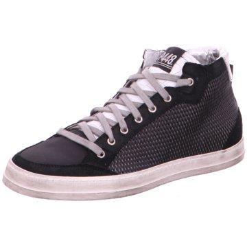 P448 Sneaker High schwarz