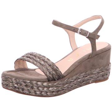 Unisa Modische Sandaletten grün