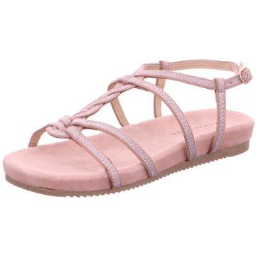 Alma en Pena Modische Sandaletten rosa