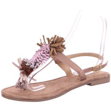 Lazamani Modische Sandaletten beige