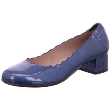 Wonders Komfort Pumps blau