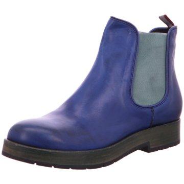 Schuhmann's Handwerkskultur Chelsea Boot blau