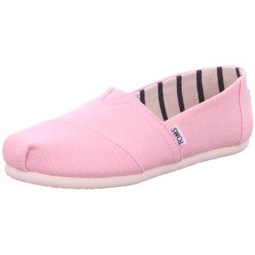 TOMS Klassischer Slipper pink