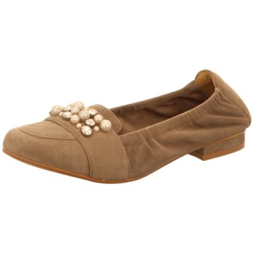 SPM Shoes & Boots Modische Ballerinas braun