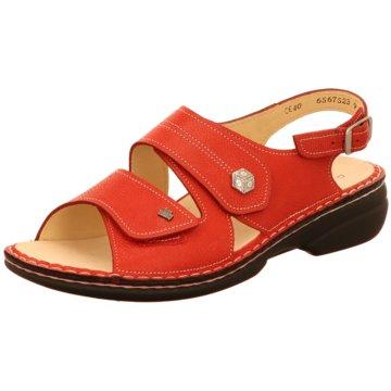 FinnComfort Komfort Sandale rot