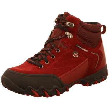 Allrounder by Mephisto Outdoor Schuh rot
