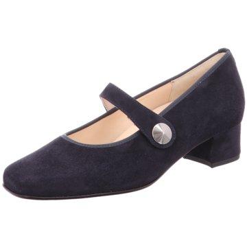 Hassia Komfort Slipper blau