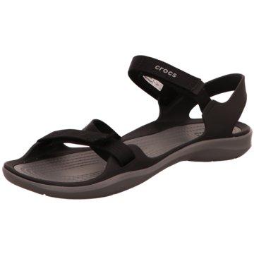 CROCS Komfort Sandale schwarz