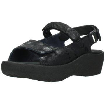 Wolky Komfort Sandale schwarz